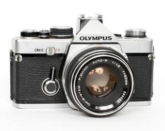Olympus OM-2 with 50mm f/1.8 Lens
