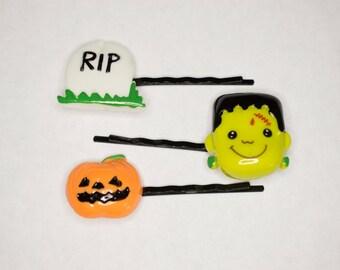 Halloween Hair Pin Set