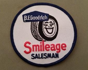b.f. goodrich smileage patch