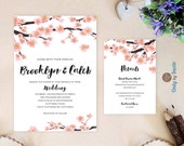 Cherry blossom wedding In...