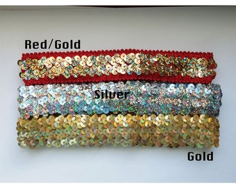Stretch Sequin Headband available in 2 Colors
