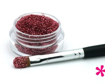PEACH TEA Cosmetic Glitter for Makeup, Eye Shadow, Lips, Nail Polish, Body Shimmer & Hair Sparkle (C010)
