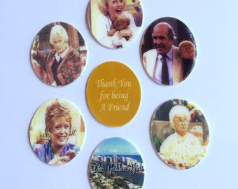 Picture it; Magnets! - Full Set of 7 Golden Girls Magnets