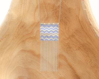 Square Chevron Tassel