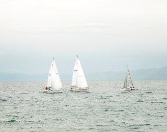 Sailing Bear Lake-  Landscape Utah Photography 12x8