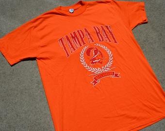 Crazy Legit Vintage 80's Tampa Bay Buccaneers Football T-shirt