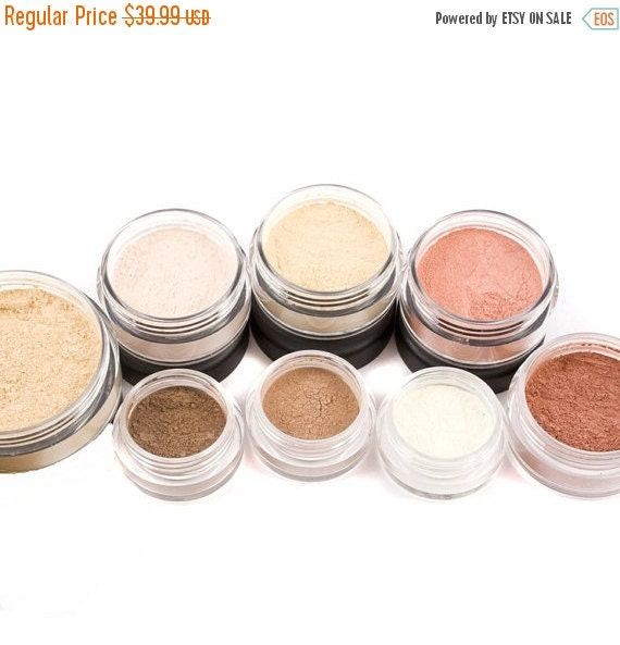 60% OFF - 10pc TRY IT Mineral Makeup Kit