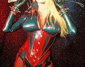 Aviator rubber corset