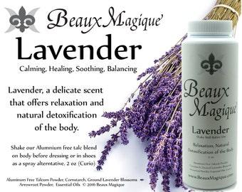 Lavender ~ Dusting Powder for bedding, sachet powder, rootwork, conjure, witchcraft, occult supplies, witchcraft powder