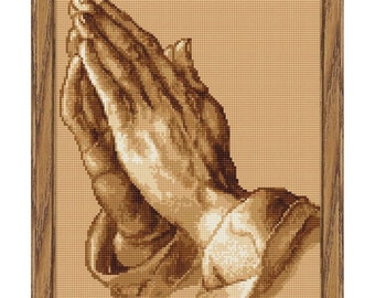Cross Stitch Kit - The Praying Hands
