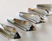 ONE Asfour Satin Icicle 38mm Chandelier Crystal Prism Pendant