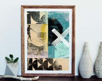 Surfer Giclee Art Print
