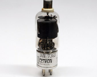 Cetron JAN 7363 vacuum tube - industrial thyratron tube