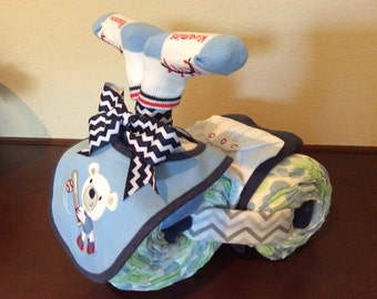 Diaper Tricycle/Batter Up!