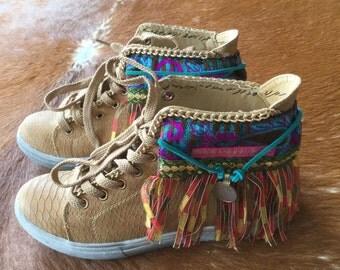 Boho Sneakers - Ibiza Sneakers by Dazzling Gypsy Queen