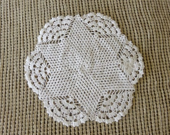 Vintage Hand crocheted doily