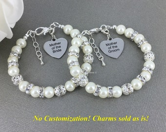 Mother of the Bride Gift, Mother of the Groom Gift, Pearl Bracelet, Gifts for Moms, Pearl Bracelet, Mother's Gifts