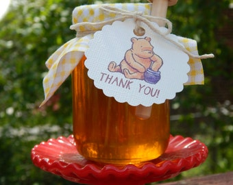 Winnie The Pooh Honey Jar Favors 12 Ct.