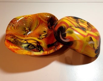 Psychedelic Glass Bowl