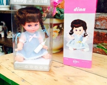 Boxed Vintage Doll 1970s