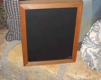 magazine program craft frame 85x11 size deep profile solid rustic cedar wood oak finish