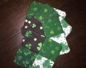 St. Patrick's Day Coasters - Luck o'the Irish - Set of 4