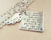 Pet Memorial Keychain, Angel With Paws, Family dog, Family cat, Family pet, Keychain for Pet, Dog Keychain
