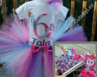 My Little Pony Tutu Set with Converse