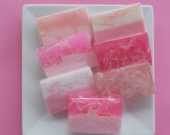 Pink Bridal Shower Soap Favors - Baby Shower Soap Favors - Pink Soap Favors - From My Shower to Yours - Custom Labels