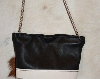 Hand Crafted Leather Purse/Tote