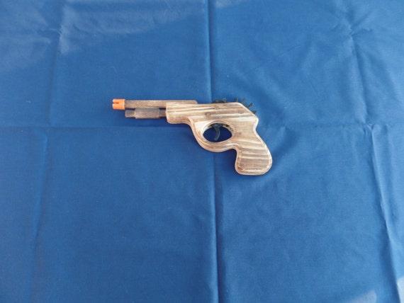 Toy Rubber Band Hand Gun