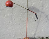 Vintage Mid Century Modern Eyeball Floor Lamp with Articulating Arm. Circa 1960, Robert Sonneman ? EXCELLENT VINTAGE CONDITION