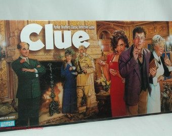 Clue Detective Game from Parker Brothers 1996 COMPLETE (read description)