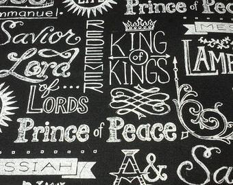 Chalkboard Names of God (set of 6)