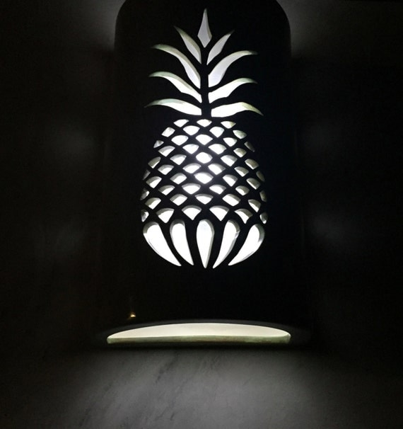 Pineapple outdoor sconce wall sconce porch light patio for Pineapple exterior light fixtures