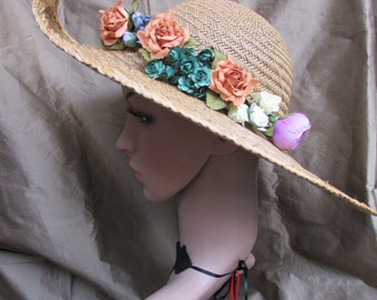 Summer Flowers Hat