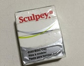 On Sale Sculpey 3 Polymer Clay - 001 White - 2oz Single Block