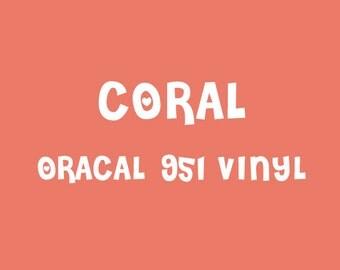 Oracal Coral Adhesive Vinyl - 951 High Performance Vinyl