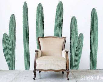 Cactus Desert Cacti Nature #1 Wall Decals Graphic Vinyl Sticker Bedroom Living Room Wall Home Decor