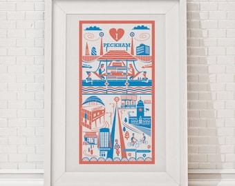 Peckham Print / London illustration