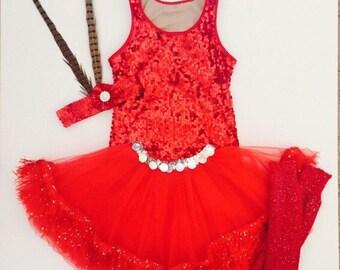 Deluxe Sequin Zootopia's Gazelle Inspired Costume Set