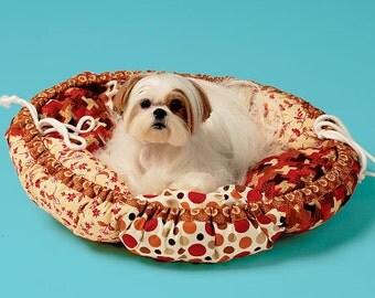 Kwik Sew 4020, Dog Bed Pattern, Pet Bed in Two Sizes, New Uncut Pattern