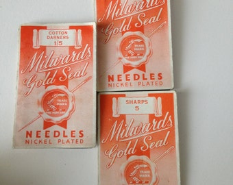 Milwards Gold Seal Needles