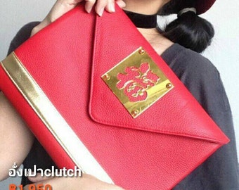 Money chinese clutch bag