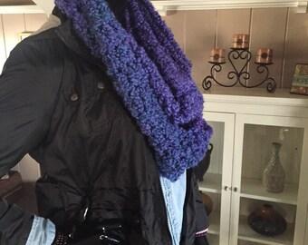 Purple/Blue Infinity Scarf