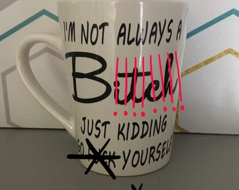 Not always a B mug