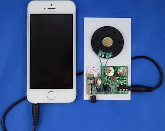 ON SALE - 25% OFF Re-Recordable Light Sensor Sound Module/Chip (104 seconds)