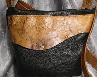 Hunter Green deerskin leather bag