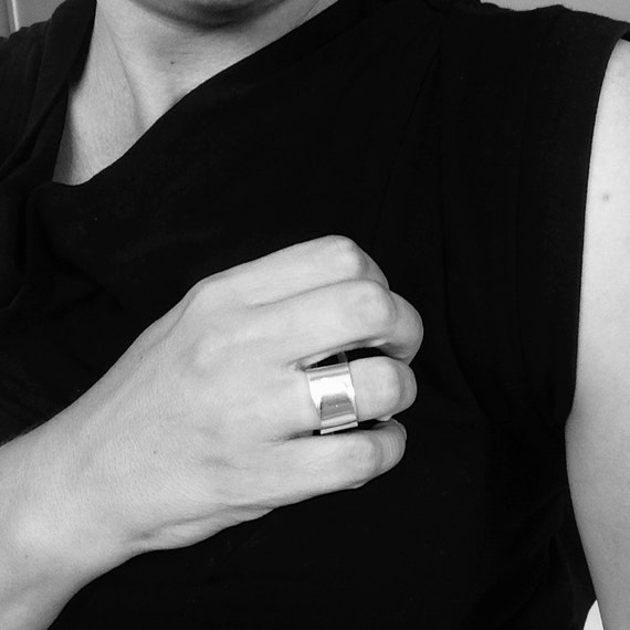 Sterling Silver 'Wrap' Ring - Handmade Silver