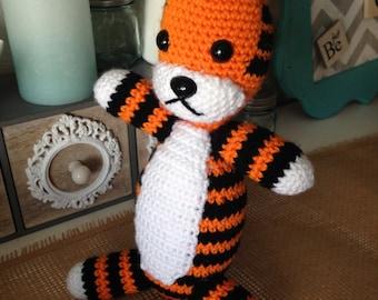 Crocheted Hobbes